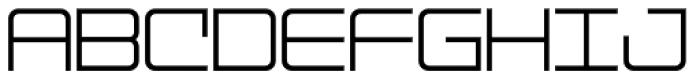 Mainline JNL Font LOWERCASE