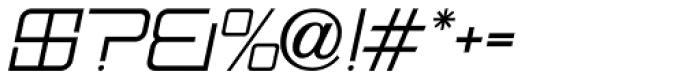 Mainline Oblique JNL Font OTHER CHARS