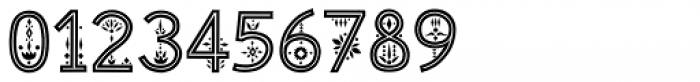 Maiolica Inline Font OTHER CHARS