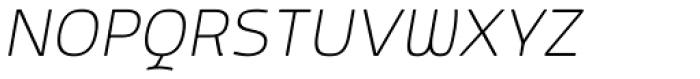 Mairy ExtraLight Italic Font UPPERCASE