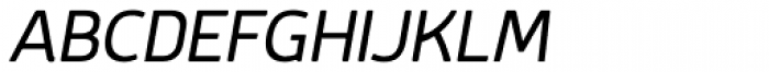 Mairy SemiLight Italic Font UPPERCASE