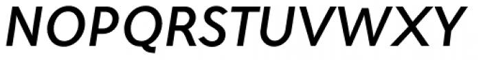 Maisee Medium Italic Font UPPERCASE