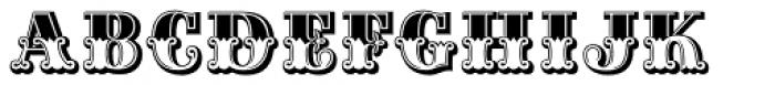 Maison Luxe Plain Font UPPERCASE