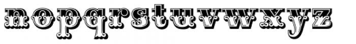 Maison Luxe Plain Font LOWERCASE