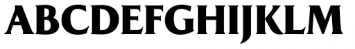 Majesty Black Font UPPERCASE