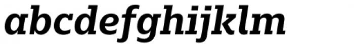 Majora Bold Italic Font LOWERCASE
