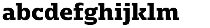 Majora Extra Bold Font LOWERCASE