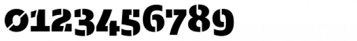 Majora Stencil Black Font OTHER CHARS