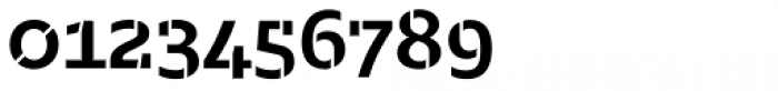 Majora Stencil Bold Font OTHER CHARS
