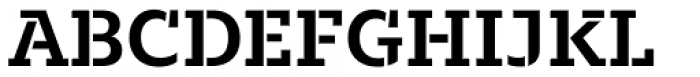 Majora Stencil Bold Font UPPERCASE