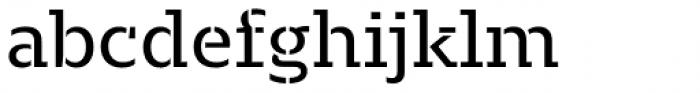 Majora Stencil Regular Font LOWERCASE
