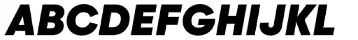 Majorant Black Italic Font UPPERCASE