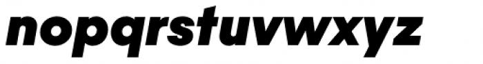 Majorant Black Italic Font LOWERCASE
