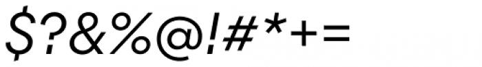 Majorant Light Italic Font OTHER CHARS