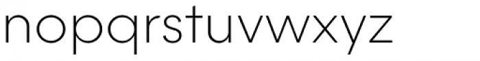 Majorant Thin Font LOWERCASE