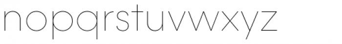 Majorant Ultra Thin Font LOWERCASE