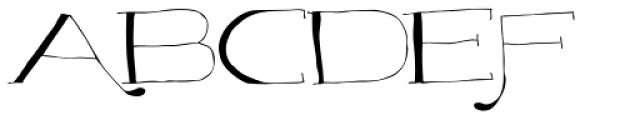 Majordomo Font UPPERCASE
