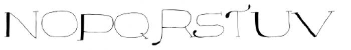 Majordomo Font LOWERCASE