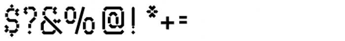 Maker Font OTHER CHARS