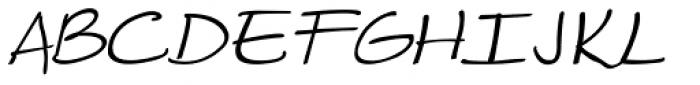 Makika Gris Italic Font UPPERCASE