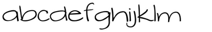 Makika Gris Font LOWERCASE