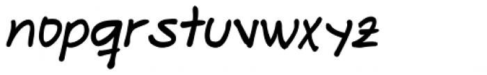Makika Negra Italic Font LOWERCASE