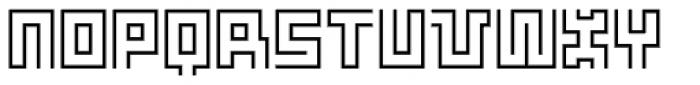 Makiritare Light Font UPPERCASE