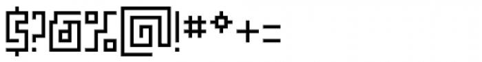 Makiritare Medium Font OTHER CHARS
