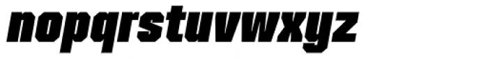 Mako Black Italic Font LOWERCASE