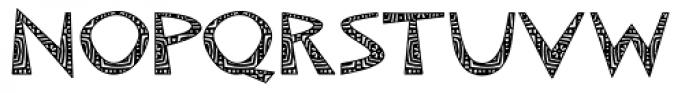 Makonde Font UPPERCASE