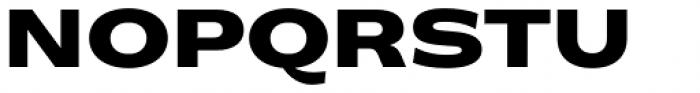 Makro XM Black Font UPPERCASE