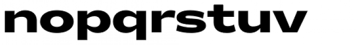 Makro XM Black Font LOWERCASE