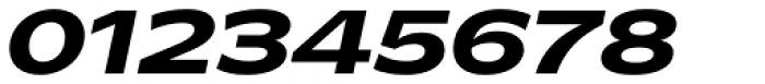 Makro XM Extra Bold Italic Font OTHER CHARS