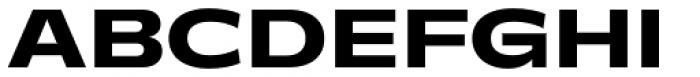 Makro XM Extra Bold Font UPPERCASE