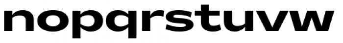 Makro XM Extra Bold Font LOWERCASE