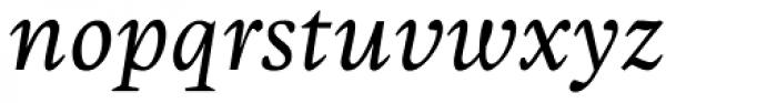 Malabar Pro Italic Font LOWERCASE