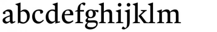 Malabar Pro Regular Font LOWERCASE