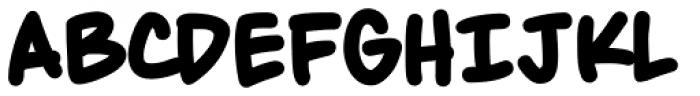 Maladroit Bold Font UPPERCASE