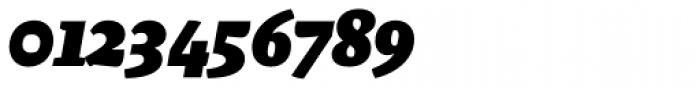 Malaga Black Italic Font OTHER CHARS