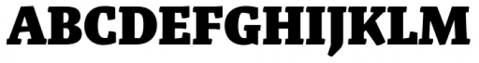 Malaga Black Font UPPERCASE