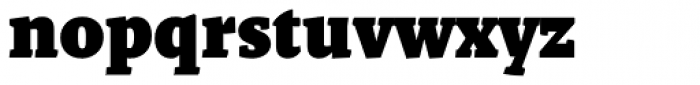 Malaga Black Font LOWERCASE