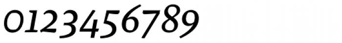 Malaga Italic Font OTHER CHARS
