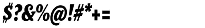 Malaga Narrow Bold Italic Font OTHER CHARS