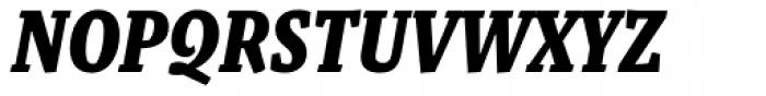 Malaga Narrow Bold Italic Font UPPERCASE