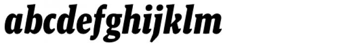 Malaga Narrow Bold Italic Font LOWERCASE