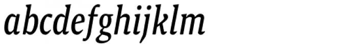 Malaga Narrow Italic Font LOWERCASE