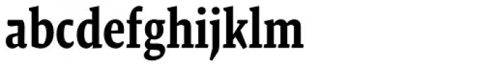 Malaga Narrow Medium Font LOWERCASE