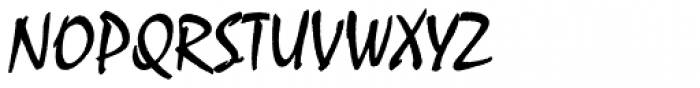 Malaga Pro Font UPPERCASE