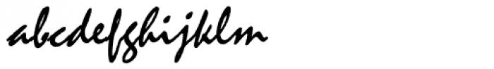 Malaga Pro Font LOWERCASE