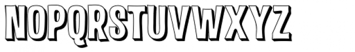 Malamondo 3D Font UPPERCASE